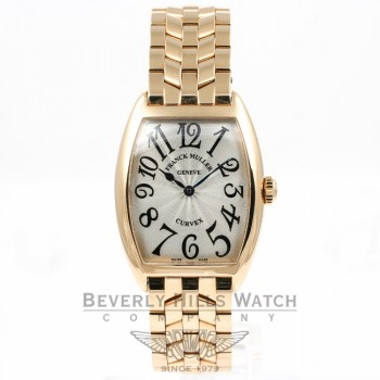 Franck Muller Ladies Curvex Rose Gold 7502QZO Beverly Hills Watch Store