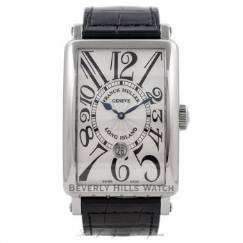 Franck Muller Long Island Stainless Steel Gents Automatic Silver Dial 1300 SC DT VWT4YA - Beverly Hills Watch Company Watch Store