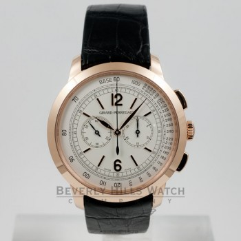 Girard Perregaux 1966 Chronograph Pink Gold Watch #49539-52-151-BK6A
