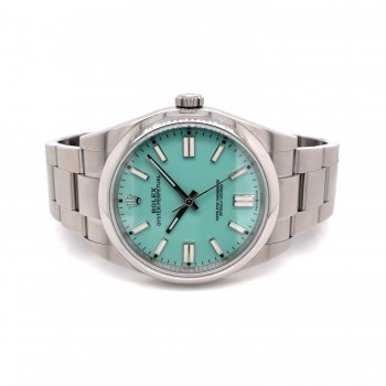 Rolex Oyster Perpetual 39mm Stainless Steel Summer Edition 114300 KPK0W6 - Beverly Hills Watch Company Watch Store