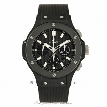 Hublot Big Bang Evolution Black Magic 44MM Black Ceramic Carbon Fiber Dial 301.CI.1770.GR JBYE13 - Beverly Hills Watch Company Watch Store