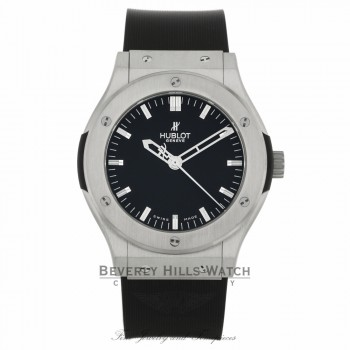 Hublot Big Bang Classic Fusion 45mm Zirconium Black Dial 501.ZX.1170.RX RXFK3W - Beverly Hills Watch