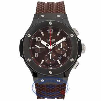 Hublot Big Bang Frappuccino Chocolate Carbon Fiber Dial Limited Edition 301.CB.1001.RX 2GWTDD - Beverly Hills Watch Company Watch Store