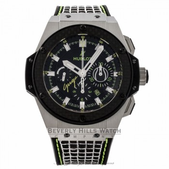 Hublot Big Bang King Power Limited Edition Guga Tennis 48MM Titanium Black Dial 703.NQ.1129.NR.GUG13 1W0ZJV - Beverly Hills Watch Store