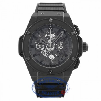 Hublot Big Bang King Power Unico Skeleton Dial Automatic Chronograph Black Rubber 701.CI.0110.RX UPNVZ4 - Beverly Hills Watch Company
