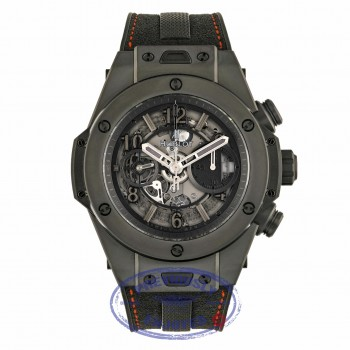 Hublot Big Bang Unico 45mm Black Ceramic Watch 411.CI.1110.RX 5WYQCN - Beverly Hills Watch Company