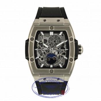 Hublot Spirit Of Big Bang Moonphase 42mm Titanium Tonneau 647.NX.1137.RX ZAQ5RR - Beverly Hills Watch