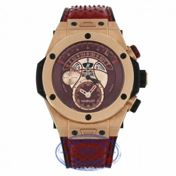Hublot Big Bang Unico Chronograph Vino 18kt King Gold Limited Kobe Bryant 413.OX.4738.PR.KOB15 PJHATA - Beverly Hills Watch Company