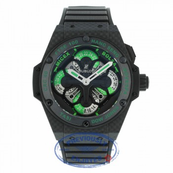 Hublot King Power Unico GMT 48mm King Cash Carbon 771.QX.1179.RX.CSH13 1XVMVX - Beverly Hills Watch