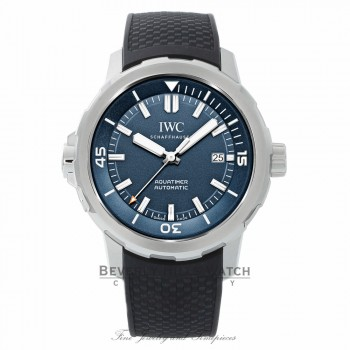 IWC Aquatimer Expedition Jacques-Yves Cousteau Automatic 42mm IW329005 DYDPK0 - Beverly Hills Watch