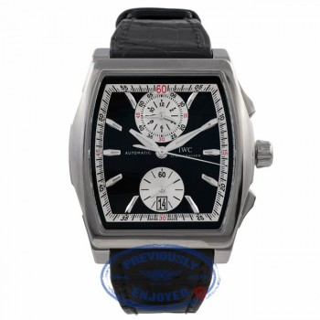 IWC Limited EditionDa Vinci Black Dial Chronograph IW376403 1VDXLQ - Beverly Hills Watch Company Watch Store