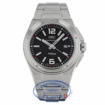 IWC Ingenieur Mission Earth Stainless Steel Black Dial Bracelet IW323604 P8A187 - Beverly Hills Watch Company