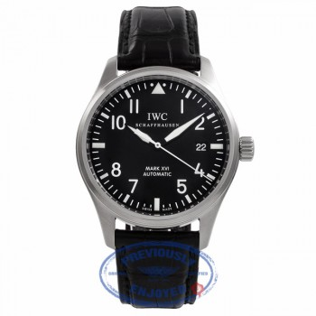IWC Mark XVI Stainless Steel Automatic 39MM IW3255-01 EENC6U - Beverly Hills Watch Company Watch Store