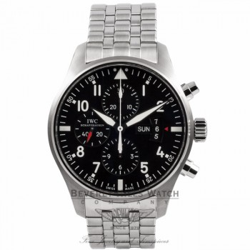 IWC Pilot Chronograph IW377704 XE53D3 - Beverly Hills Watch Company Watch Store