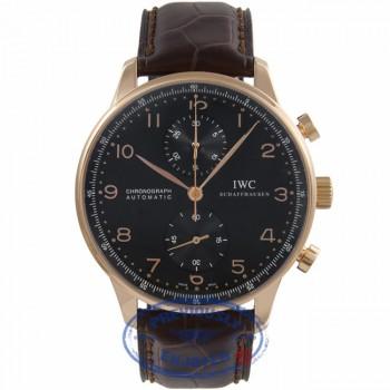 IWC Portuguese Gold Watch IW371415 J2T3RJ - Beverly Hills Watch Company Watch Store