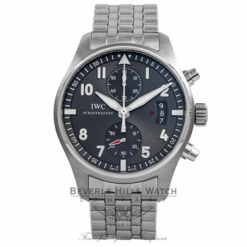 IWC Spitfire Pilot Chrono Ardose Dial 43MM IW387804 K3CEM3 - Beverly Hills Watch Company Watch Store