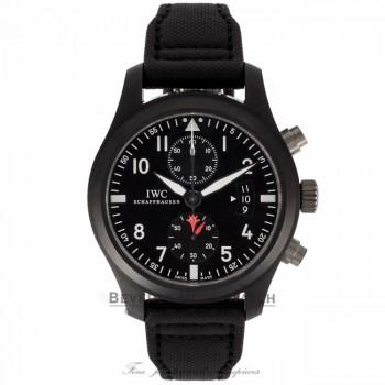 IWC Pilot Top Gun Edition Chronograph Black Dial Arabic numeral IW388001 QYZR9R