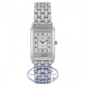 Jaeger-LeCoultre Reverso Ladies Stainless Steel 2618110 X3VTFZ - Beverly Hills Watch Company Watch Store