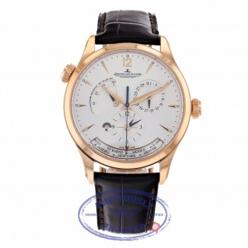 Jaeger LeCoultre Master Control Geographique 39mm Rose Gold Q1422521 1F2RDR - Beverly Hills Watch Company