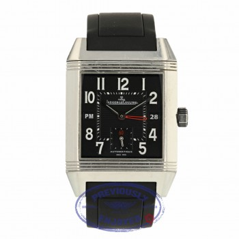 Jaeger LeCoultre Squadra Reverso Hometime Q7008620 J7489K - Beverly Hills Watch Company