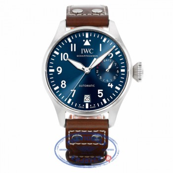IWC Big Pilot Midnight Blue Dial Automatic IW500916 - Beverly Hills Watch