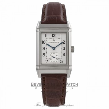 Jaeger LeCoultre Reverso Grande Stainless Steel Mechanical Silver Dial Q2708410 JDZQQ2 - Beverly Hills Watch Company Watch Store