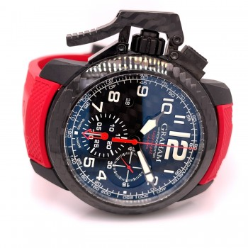 Graham Chronofighter 47mm Oversize Superlight Carbon 2CCBK.B11A L16P9Y - Beverly Hills Watch Company