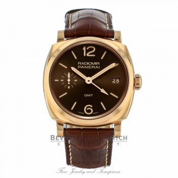 Panerai Radiomir 1940 Brown Sun-brushed Dial PAM00570 M0MAWW - Beverly Hills Watch