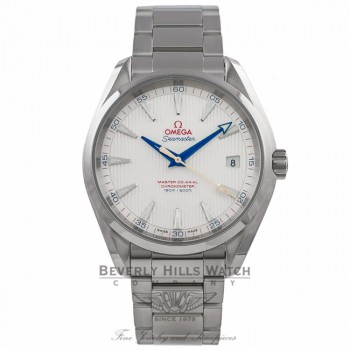 Omega Aqua Terra Special Gold Edition Master Co-Axil Stainless Steel Silver Dial 231.10.42.21.02.004 EAE124