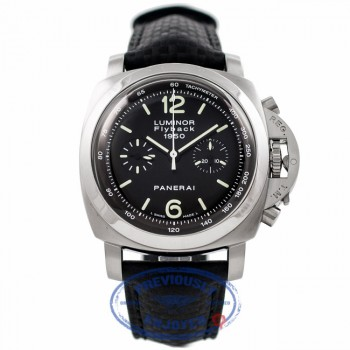 Panerai Luminor 1950 Flyback Stainless Steel Carbon Fiber Strap PAM 212 6U2CJT