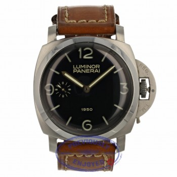 Panerai Luminor 1950 Re-Edition Stainless Steel PAM000127 W13XLD - Beverly Hills Watch Company Watch Store