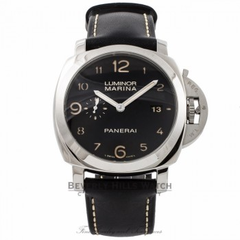 Panerai Contemporary Luminor 1950 3 Day Power Reserve Stainless Steel Automatic PAM00359 386DZZ - Beverly Hills Watch Company Watch Store