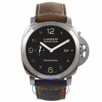 Panerai Luminor Marina 1950 3 Day Power Reserve Stainless Steel Automatic PAM00359 RDKQCN - Beverly Hills Watch Company Watch Store