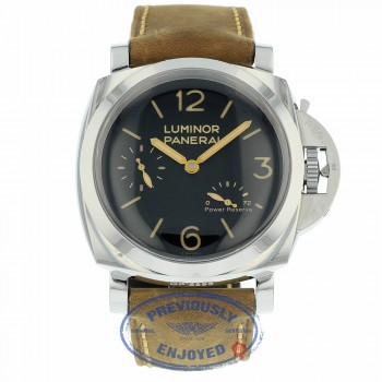 Panerai Historic Luminor 1950 3 Days Power Reserve 47MM Stainless Steel PAM00423 Z4VZE5 - Beverly Hills Watch Company