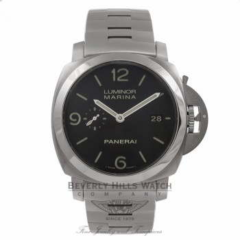 Panerai Luminor 1950 3 Days 44MM Stainless Steel Automatic PAM00328 CE3FLW - Beverly Hills Watch Company Watch Store