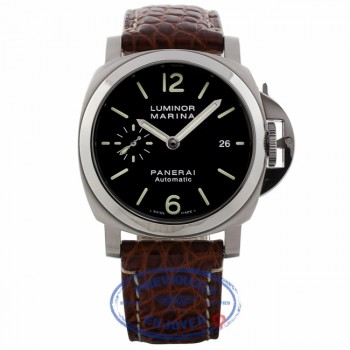 Panerai Luminor Marina Stainless Steel 40MM PAM00048 VF3ZC0 - Beverly Hills Watch Company Watch Store