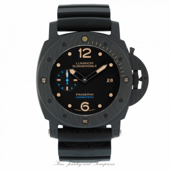 Panerai Luminor Submersible Black Dial Automatic Carbotech 47mm PAM00616 UCZF83 - Beverly Hills Watch