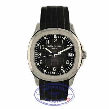 Patek Philippe Aquanaut Black Dial Stainless Steel 5167A/001 3856D4 - Beverly Hills Watch Company