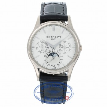 Patek Philippe Grand Complications Perpetual Calendar 37mm 5140g-001 V4URPV - Beverly Hills Watch