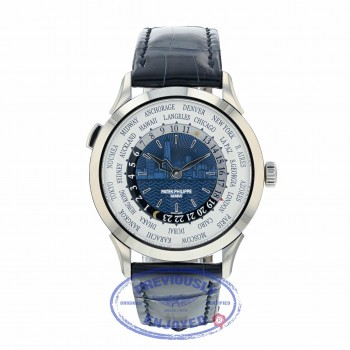 Patek Philippe World Time New York Limited Edition White Gold 5230G-010 0ECJV0
