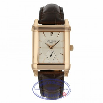 Patek Philippe Rose Gold Gondolo Strap Manual Wind 5111R-001 XCT9Y9 - Beverly Hills Watch