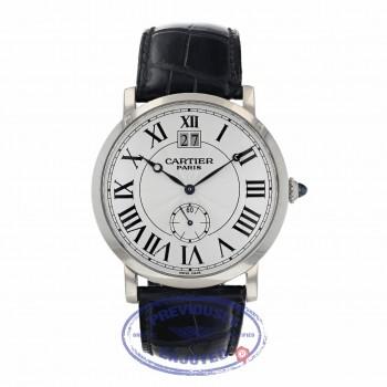 Cartier Rotonde Big Date Collection Privee Mens Watch W1550751 ZC5TZ2