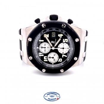 Audemars Piguet Royal Oak 42mm Offshore Rubberclad Stainless Steel 25940SK.OO.D002CA.01.A QPJK14 - Beverly Hills Watch Company