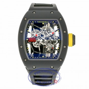 Richard Mille All Black Manual Wind Skeleton RM035 CA TZP Americas HCPPNP - Beverly Hills Watch