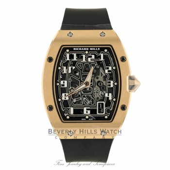 Richard Mille Rose Gold Automatic Extra Flat Lifestyle Series RM67-01RG NAV594
