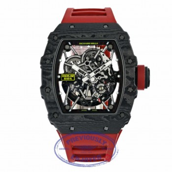 Richard Mille Rafael Nadal Black Carbon Watch RM 035-02 RAFA Q2XNFZ - Beverly Hills Watch Company
