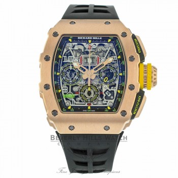 Richard Mille Rose Gold Chronograph RM11-03 NRLEP0 - Beverly Hills Watch