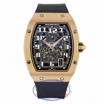 Richard Mille Rose Gold Ultra Thin Case Self-Winding Automatic Lifestyle Series RM67-01RG 9AV3UJ - Beverly Hills Watch