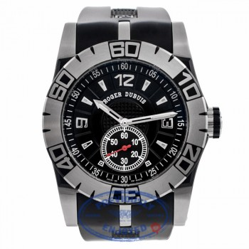 Roger Dubuis Easy Diver Stainless Steel 46MM Black Dial SED4614C9.NCPG9.13R BHZQUF - Beverly Hills Watch Company Watch Store