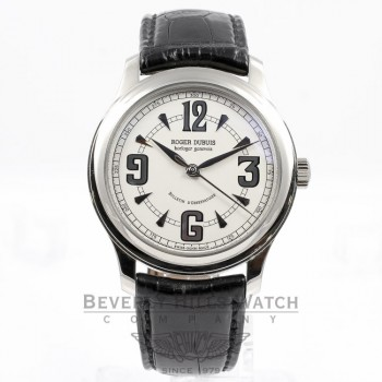 Roger DuBuis Hommage White Gold Watch H405703.63/1408/1801 Beverly Hills Watch Company